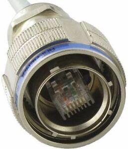 Amphenol RJ11F Series 6P2C Way Straight Cable Mount RJ11 Plug RJ11FTVX