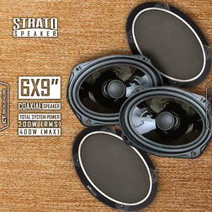 CT-Sounds-Strato-6x9-034-2Way-Silk-Dome-Full-Range-Coax-Car-Coaxial-Speakers-Pair