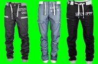 Boys ENZO Cuffed Ankle Denim Jeans New Joggers Coated Sale Waist Size 24 - 29