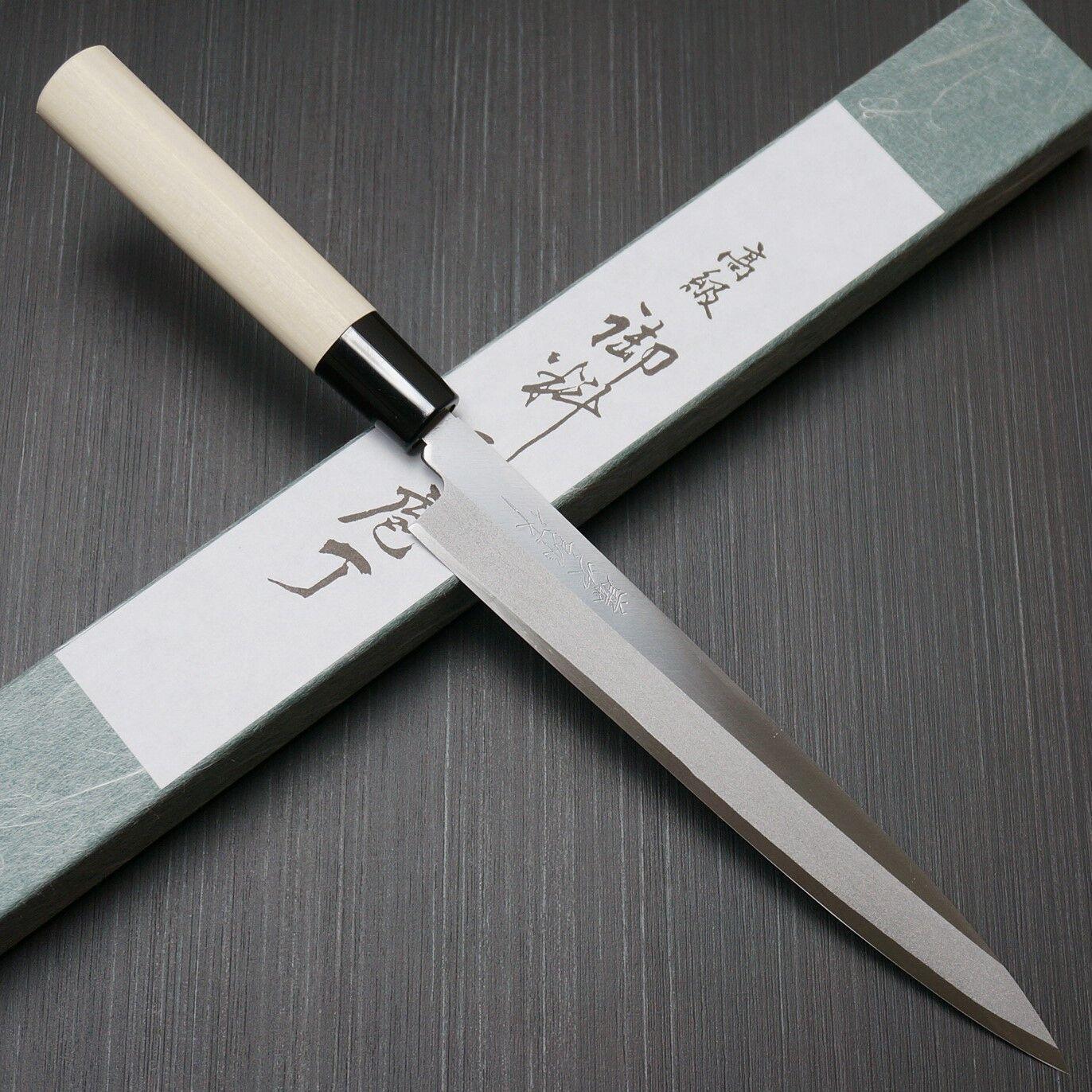 Japonais Tojiro shirogami Acier sushi sashimi Yanagiba Knife 210 mm F-930 Japon