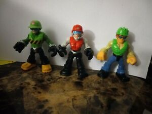 Lot Imaginext Transformers hard hat construction workers Toy Figurine