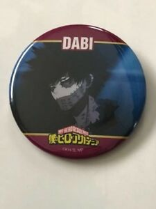 0babfad35aa My Hero Academia Can Badge Button Dabi Villains UA Kohei Horikoshi ...