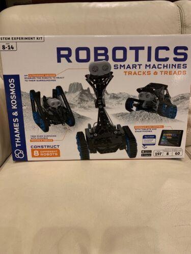 THAMES KOSMOS ROBOTICS SMART MACHINES TRACK /& TREADS KIT PROGRAM WITH SMARTPHONE