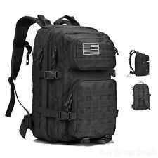 40L Travel Hiking Camping Luggage Backpack Military Tactical Assault Pack Bag