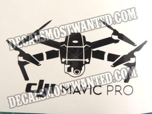 one decal sticker UAV car window die cut vinyl DJI Mavic 2