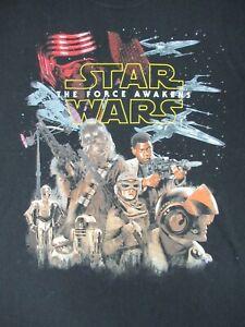 Star-Wars-The-Force-Awakens-Grande-Nero-T-Shirt-C568