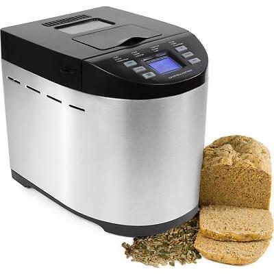 Andrew James Bread Maker Machine Automatic Breadmaker + Nut & Raisin Dispenser