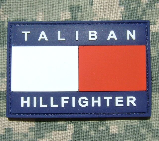 3D PVC TALIBAN HILLFIGHTER ARMY ISAF MILSPEC ACU VELCRO® BRAND FASTENER PATCH