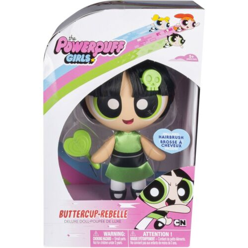 """Powerpuff Girls Buttercup 6/"""" Deluxe Doll with Hairbrush"""