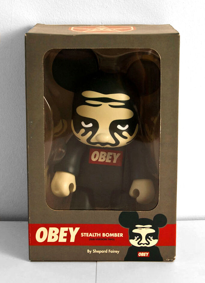 NEW - Obey - Qee 8 inch - 8