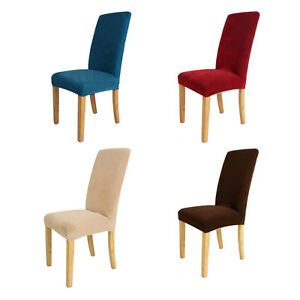 Stretch Short Chair Cover Super Fit Dining Room Chair