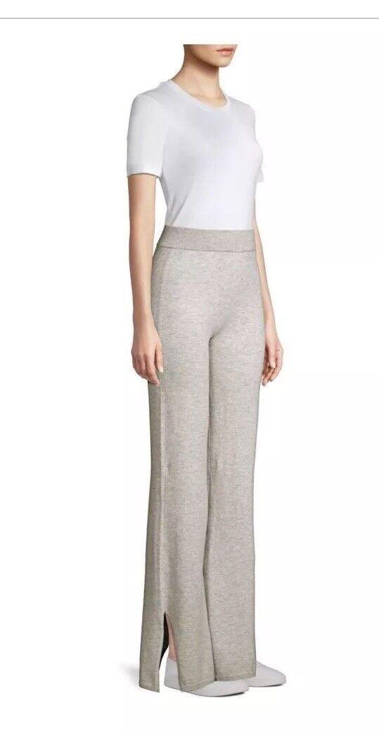 JOIE Makhi Wool Knit Pant Light Heather Grey Woman's Size Small  Brand NEW