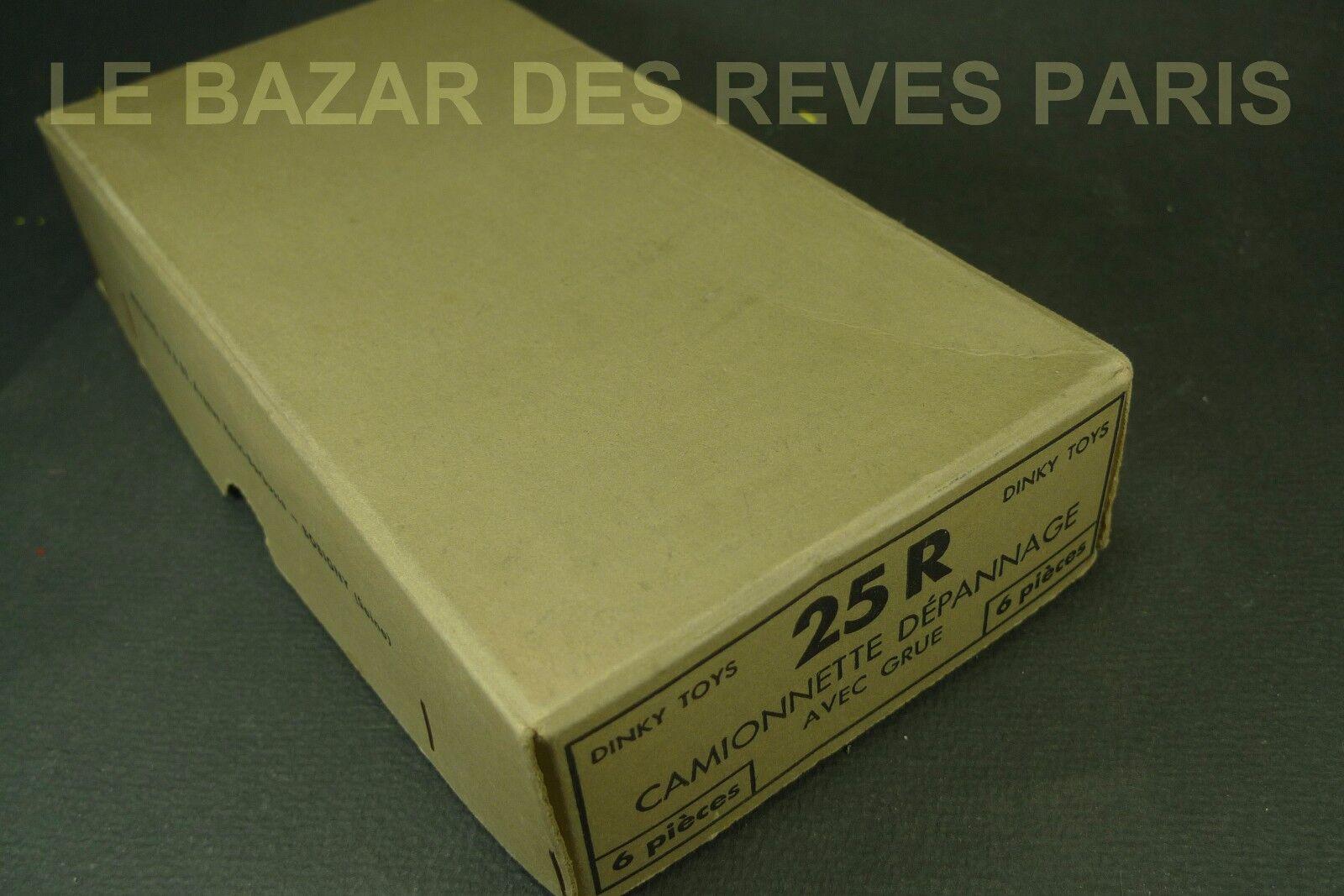 muchas concesiones DINKY TOYS FRANCE.   Boite Boite Boite vide de 6 pièces distributeur pour dépanneuse 25 R.  venta con alto descuento