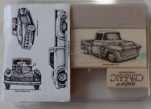 Stampin' Up Classic Pick Ups Set of 5 Retired Stamp Set