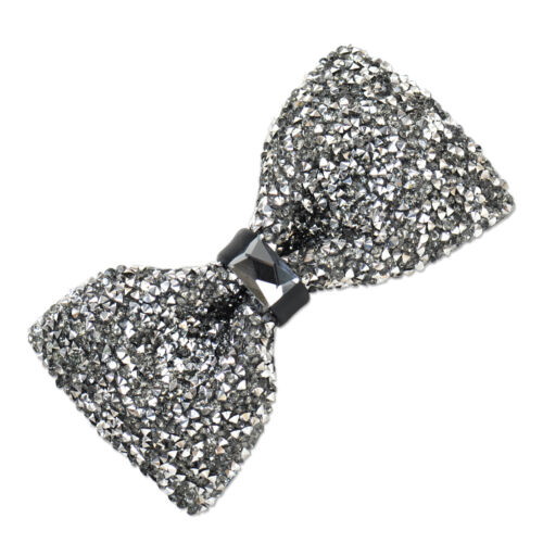 Men Boys Stylish Tie Glitter Crystal Rhinestone Sparkle Adjustable Tuxedo Bow ti