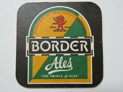 """1 only POTTER,S BREWERY New South Wales /""""Skinny Blonde /"""" BEER COASTER CLOSED"""