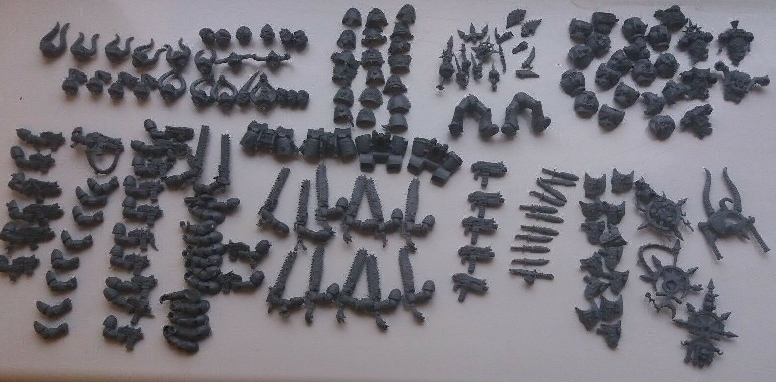 Warhammer 40K Space Marines, New Parts, Sorcerer and Transporters, have a look