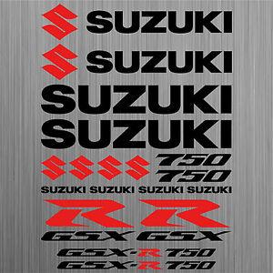 SUZUKI-GSX-R750-aufkleber-sticker-motorrad-motorcycle-18-Stucke-Pieces
