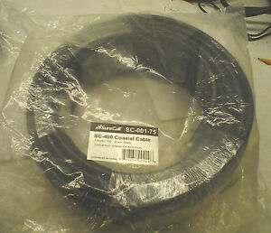 NIB SureCall SC-400 Coaxial Cable SC-001-75 N Male Connectors on both ends