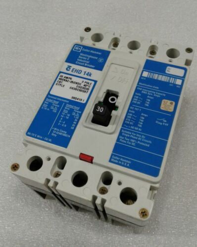 """EHD3030 Westinghouse 14K Red Label Circuit Breaker 3P 30A 480V /""""2 YEAR WARRANTY/"""""""