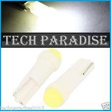 6x Ampoule T5 W1.2W W2X4.6D ( pour B8.3D ) LED COB Blanc White Neo Wedge 12V