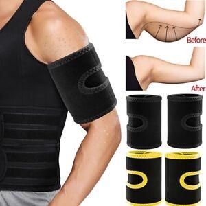 New Arm Trimmers Sauna Sweat Band for Men Sauna Effect Arm Slimmer Body Shaper