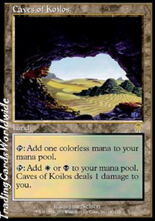 Caves of Coilos      Foil    NM    Apocalypse    engl.    Magic the Gathering c255c1