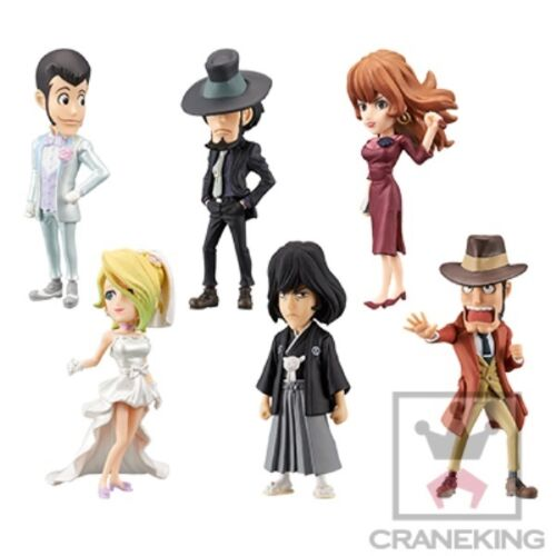 Lupin III Mine Fujiko World Collectable Figure II BANPRESTO