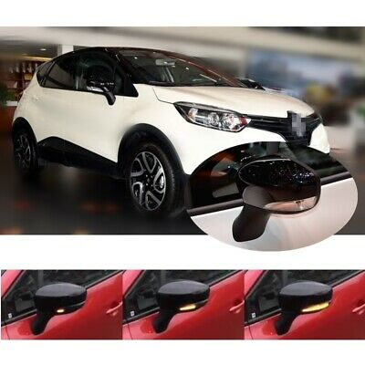 2013 to 2018 Renault Captur Wing Mirror Indicator Lens Unit RIGHT SIDE />
