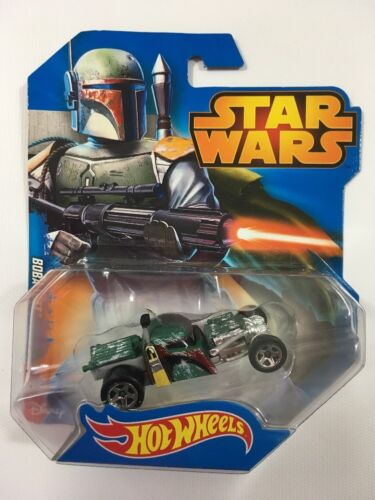 Star Wars Hot Wheels Boba Fett Diecast New Collection Mini Car Series Free Ship