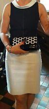 Linea Raffaelli Mother of the bride/Occasion dress size 10.Black and White.GC.