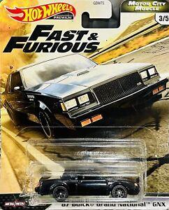 2020 Hotwheels Premium Fast & Furious 87 Buick Grand ...
