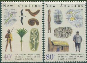 New-Zealand-1991-SG1585-1586-Chatham-Islands-set-MNH