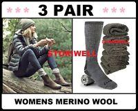 Womens Super Warm Heavy Thick Smart Thermal Merino Wool Boots Socks 9 11