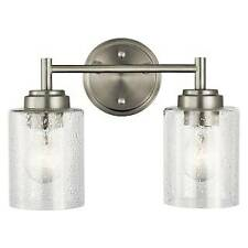 Kichler Lighting 45885NI Two Light Bath from The Winslow Collection, Brushed