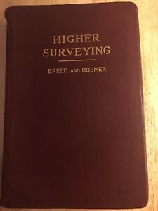 Book higher surveying