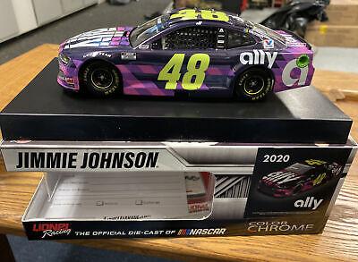 NASCAR 2020 JIMMIE JOHNSON #48 ALLY FINANCIAL COLOR CHROME ...