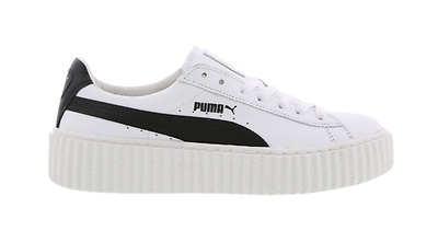 Puma Rihanna Fenty creepers blanc cuir noir (364462 01) Femmes Baskets | eBay