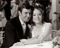 James Bond Wedding Diana Rigg George Lazenby 10x8 Photo