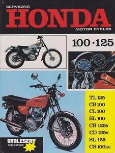 honda cb 100 ks cl 100 sl 100 1969 1982 owners service repair manual rh ebay com honda motorcycle repair manuals gtx700n dct USA Honda Motorcycle Repair Manual