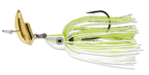 """Terminator Shuddering Bait 3//8 /""""Chartreuse and White Shad/"""""""