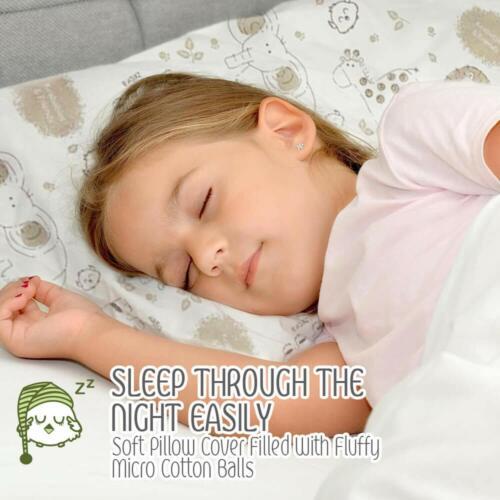 Almohada Para Bebe De Algodon Organico Super Suave Almohada Infantil Para Cama