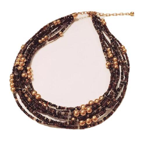 Vintage 1980\u2019s Joan Rivers Signed Gold Tassel Pendant necklace 30\u201d with Interchangeable Pendant