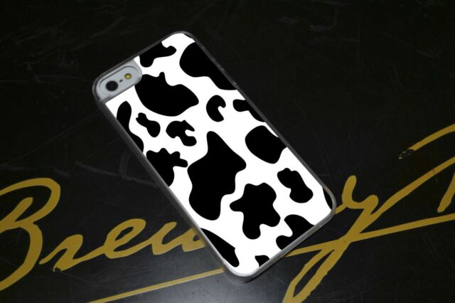 Cow Print Trend Hard Phone Case Fits iPhone 4 4s 5 5s 5c 6