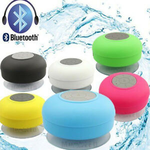 Waterproof Wireless Bluetooth Speakers Handsfree MIC Bathroom Shower Speaker