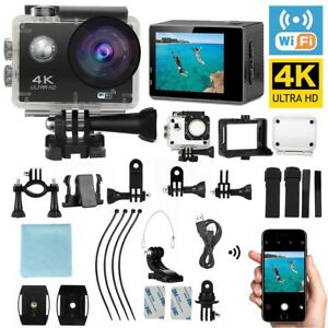Ultra 4k HD 1080p Waterproof WiFi DV Action Sports Camera Video Camcorder GoPro