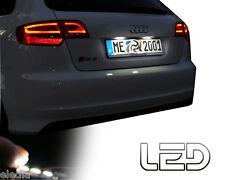 AUDI A4 B8 2 Ampoules LED blanc éclairage lumière plaque immatriculation Canbus