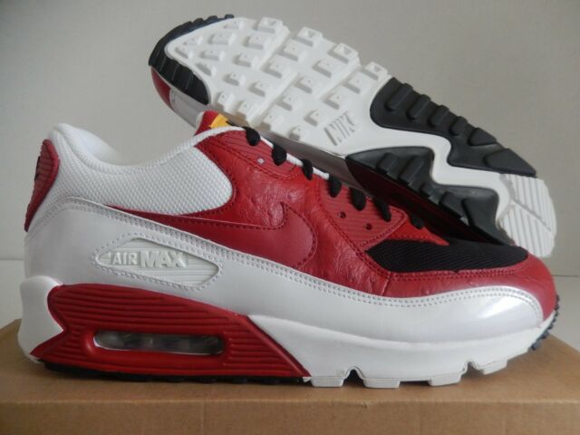 new concept 50ab6 8185d Nike Air Max 90 Black-varsity Red-white Sz 13 325018-061 for sale ...