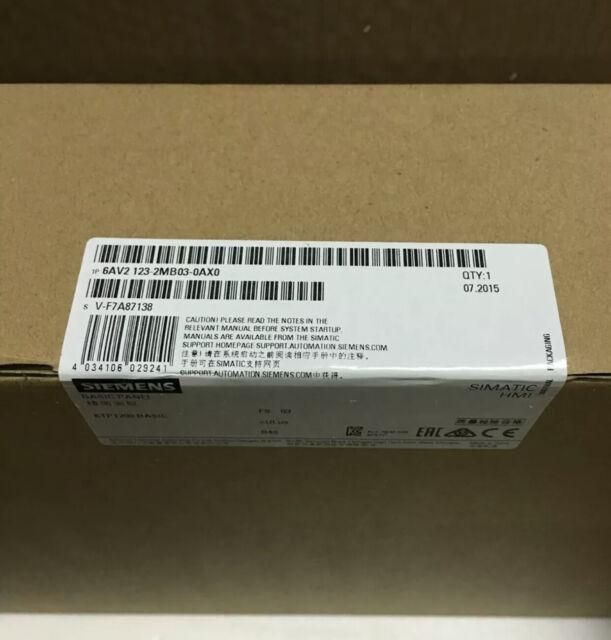 SIEMENS 6AV2123-2MB03-0AX0 /6AV2 123-2MB03-0AX0 NEW FAST DELIVERY
