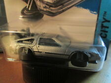 HOTWHEELS BACK TO THE FUTURE DMC DELORIAN Car (NEW FOR 2015) SCALE 1/64 - NEW!
